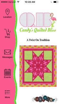 Candy's Quilted Bliss poster