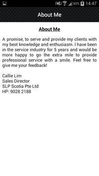 Callie Lim apk screenshot