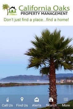 Cal Oaks Property Management poster