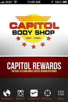 Capitol Body Shop poster