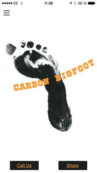 Carbon Bigfoot poster