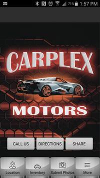 Carplex Motors poster