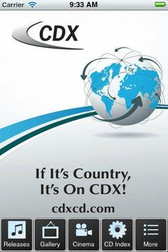 CDX poster