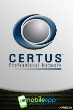 CERTUS™ Professional Network poster