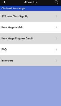 Cincinnati Krav Maga apk screenshot