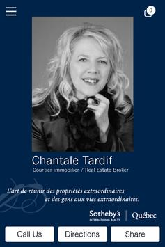 Chantale Tardif Sotheby's poster