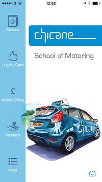 Chicane School of Motoring poster