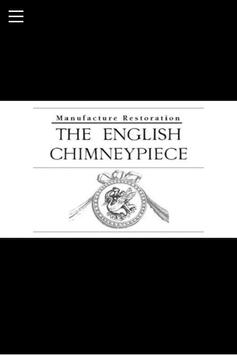 The English Chimneypiece poster