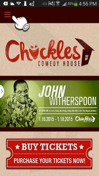 Chuckles Comedy House apk screenshot