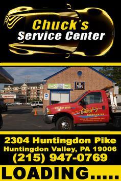Chucks Service Center apk screenshot