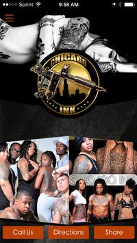 Chicago Ink Tattoo Lounge poster