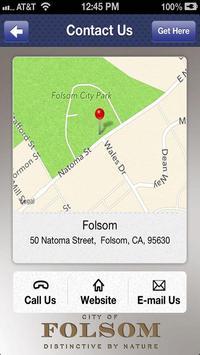 City of Folsom apk screenshot