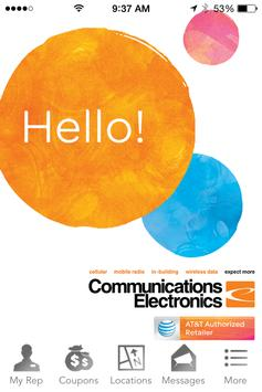 Communications Electronics poster