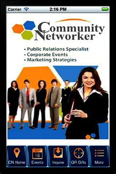 Community Networker poster