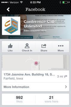 Conference Calls Unlimited apk screenshot