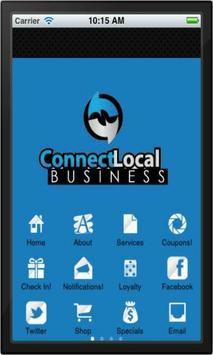 Connect Local Business poster