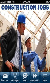 Construction Jobs poster
