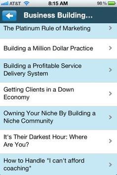 The Coach Resource Portal apk screenshot