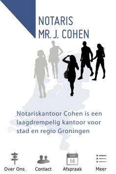 Notaris Cohen poster