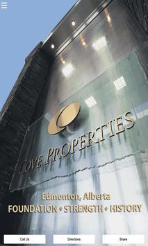 Cove Properties Alberta Canada poster