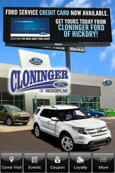 Cloninger Ford of Hickory poster