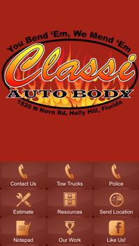 Classi Auto Body poster
