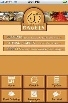 Calvert Manor Bagels poster