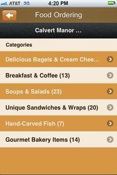 Calvert Manor Bagels apk screenshot