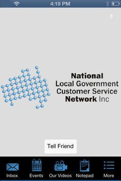National LG Customer Service poster