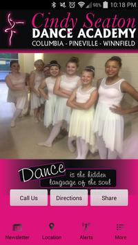 Cindy Seaton Dance Academy poster
