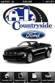 Countryside Ford poster
