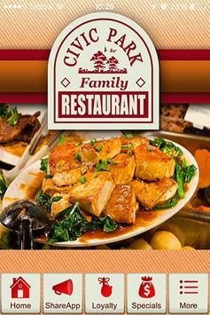 Civic Park Family Restaurant poster