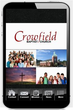 Crowfield Baptist Church poster