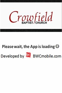 Crowfield Baptist Church apk screenshot
