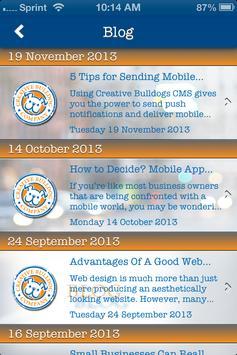 Creative Bulldog Company apk screenshot