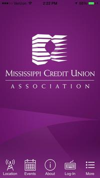 MS Credit Union Association poster