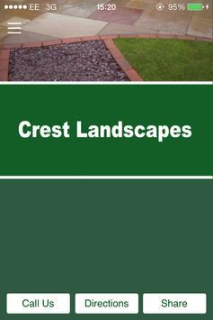 Crest Landscapes poster