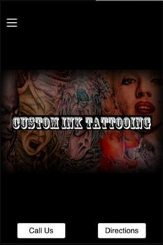 Custom Ink Tattooing poster