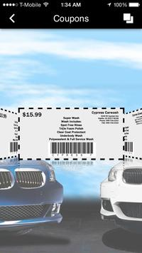 The Cypress Car Wash apk screenshot