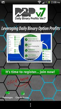 Daily Binary Profits Sofware poster