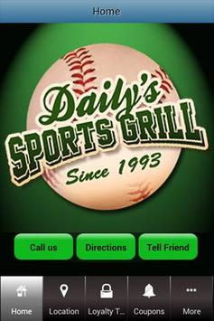 Daily's Sports Grill poster
