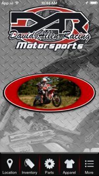David Allen Racing Motorsports poster