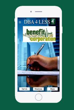 DBA 4 Less apk screenshot