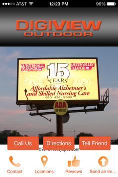 Digiview Outdoor poster