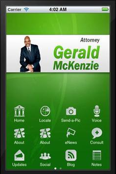 Gerald McKenzie poster