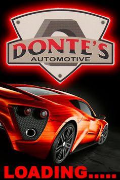 Donte's Auto poster