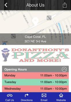 DonAnthony's Pizza and More apk screenshot