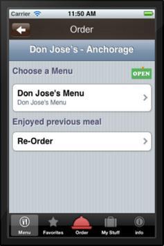 Don Jose's apk screenshot