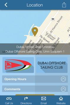 Dubai Offshore Sailing Club apk screenshot