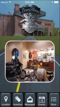 Down Home Harley-Davidson poster